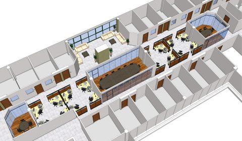 משרדי NICE – הצעת תכנון, רעננה